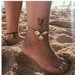 Rope Shell Anklet